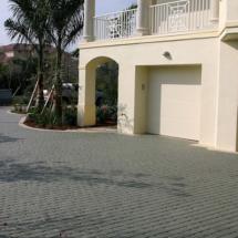 Condo Brick Paver Driveway