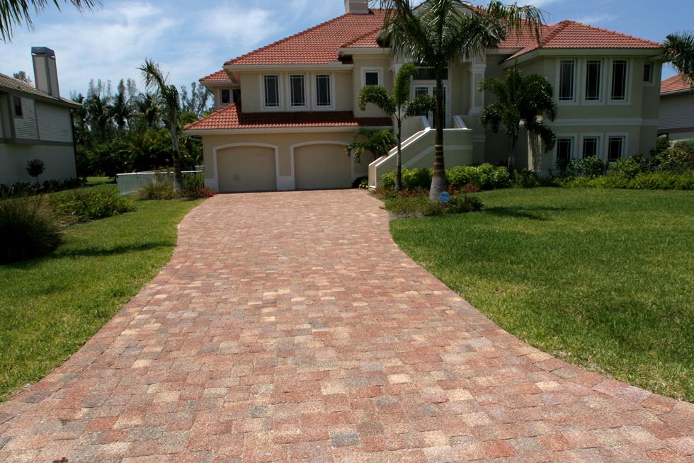 Brick Paver Driveway
