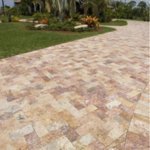Marble driveway