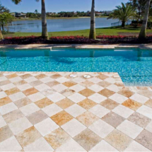 Marble Patio Pool Deck