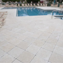 Marble Pavers Patio