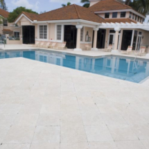 Tumbled Marble Patio