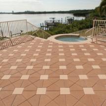 Custom Brick Paver Deck