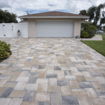 Brick Paver Driveway - Residential