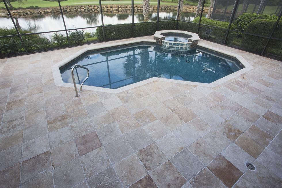 Brick Paver Pool Decks | Photo Gallery