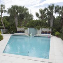 Pool Deck Brick Patio