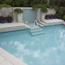 Custom Pool Deck Brick Paver Design