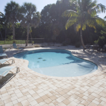 Fort Myers Brick Paver Pool Deck