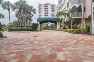 Commercial Projects Parking Lot Pavers