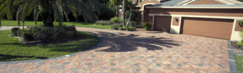 Customized Brick Paver Driveways